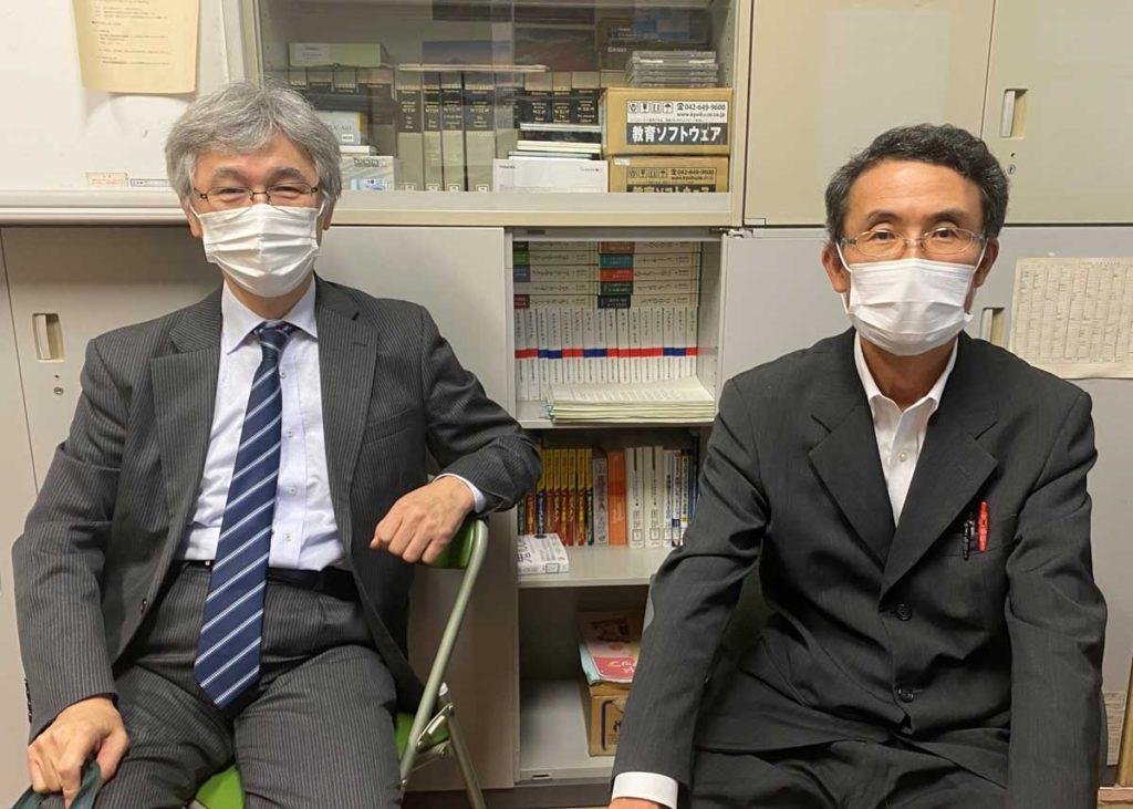 釧路高専 片岡先生 林先生